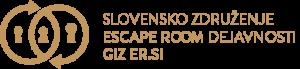 slovensko zdruzenje escape room dejavnosti giz er si